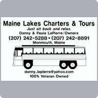 Maine Lakes Charters Tours